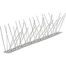 Pinchos para AVES anti Palomas 60 puntas acero inoxidable AISI 304 Base flexible Caja de 10 metros
