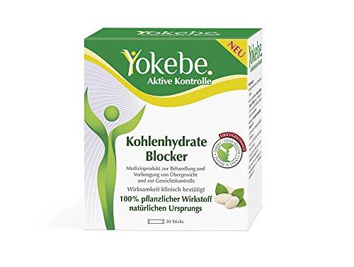 Yokebe Aktive Kontrolle Kohlenhydrate Blocker, 30 Stück (1 x 30 Stück) (Sie Unser Nehmen Brot)