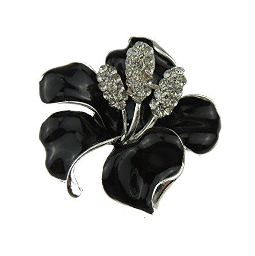 glamour-girlz-elegant-orchidee-lily-fleur-email-5-cm-broche-en-strass-noir-noir-taille-unique