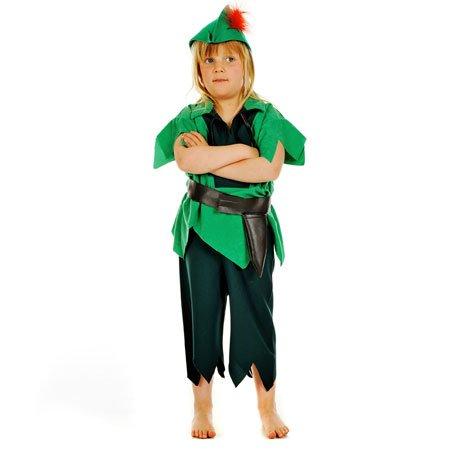Jungen Peter Pan Kostüm Book Week oder Halloween-Kostüm 3-5 Jahre [Spielzeug]