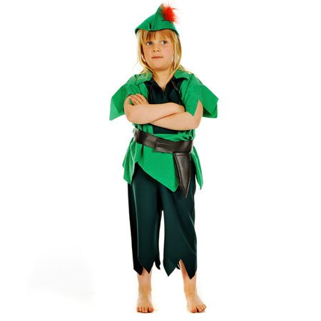 Peter Pan - Kids Costume 5 - 7 years