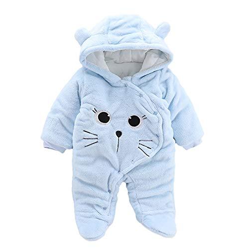 Strampler Tier Kombination Herbst Winter Strampler Kinder Flanell Mädchen Kostüm Warme süße Pyjamas -