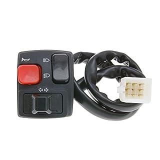 Schaltereinheit links Blinker für GILERA SMT 50 D50B0 06-10 ZAPG12D