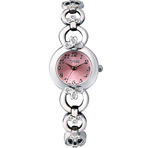 Time W50053L.03A - Orologio da polso da donna, cinturino in metallo colore grigio