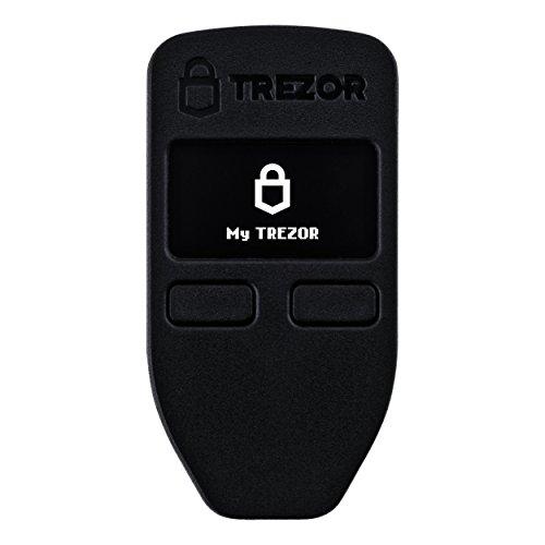 Trezor Hardware Wallet für Bitcoin, Dash, Litecoin, Zcash, Ether - schwarz