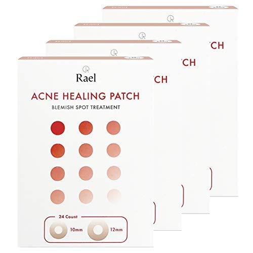Rael acné hidrocoloideo parche curación 4 paquete