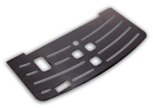 Saeco Intelia - Rejilla y bandeja de goteo de acero inoxidable.