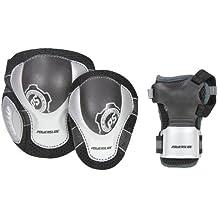 Powerslide Protecciones Pro Air Tri-Pack Negro S
