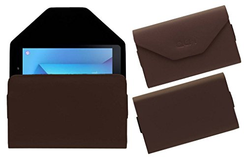 Acm Premium Pouch Case for Samsung Galaxy Tab S3 Tablet Flip Flap Cover Brown  available at amazon for Rs.239