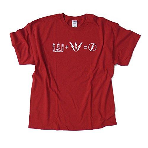 FLASH FORMULA - Big Bang Theory inspired T-Shirt > 100% Cotton > S - 2XL > High Quality Long-lasting Print