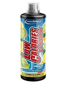 Ironmaxx Low Calories Sportsdrink Zitrone-Limette, 1er Pack (1 x 1 l)