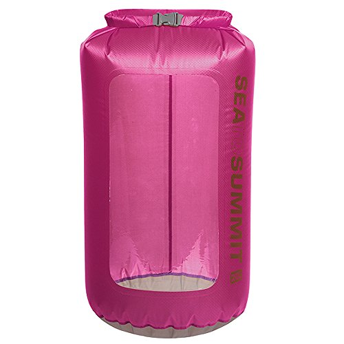 Wasserdichter Packsack Ultra-Sil View Dry Sack berry 20 L -