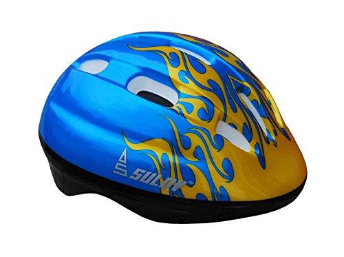 Sulov casco da ciclismo da bambino, colore blu (blau), taglia s