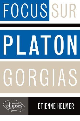 Platon Gorgias par Etienne Helmer