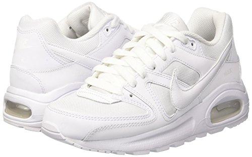 Ar Gs Branco Comando Max branco Nike Weiss bianco Branco De Sapatilha Flex x8q68YUI