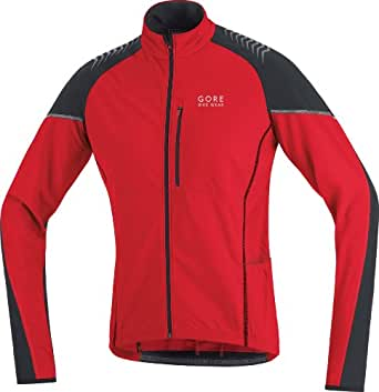 GORE BIKE WEAR Herren Trikot THERMO ALP-X, red/black, S