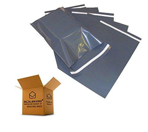 Mailing borse affrancatura Postale Poly POST posta pacco Self sigillo resistente grigio tutte le dimensioni