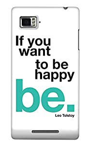 The Fappy Store Be-happy Back Cover for Lenovo K910