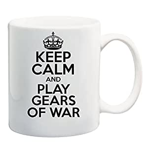 Keep Calm AND PLAY GEARS OF WAR Mug