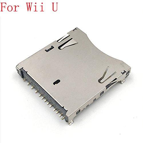 Für Nintendo WII U Konsole TF SD Memory Card Slot Sockel Reader Halter Ersatz Ersatzteile (Game-pad U-konsole Wii Mit)