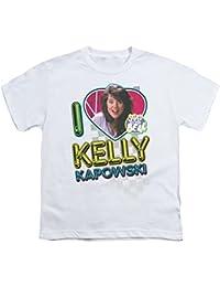 2Bhip Saved by The Bell NBC TV Series I Love Kelly Big Boys T-Shirt Tee