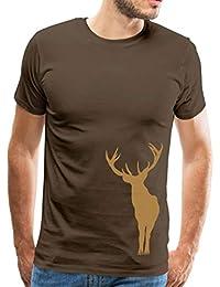 Spreadshirt Hirsch Geweih Junggesellenabschied Männer Premium T-Shirt 1b2b6e1c1d