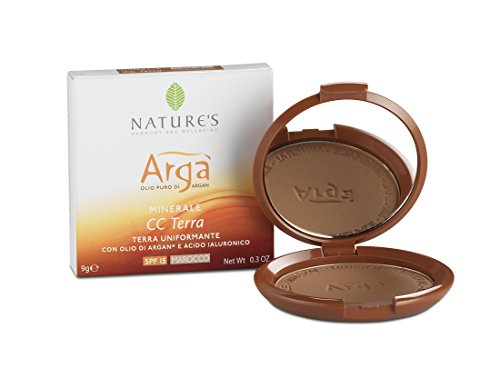 Arga' cc terra uniformante marocco con olio di argan e acido jaluronico - 9 gr