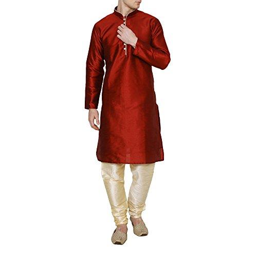 Royal Kurta Men's Dupion Silk Kurta Pyjama
