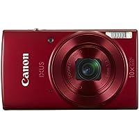 Canon IXUS 180 KIT Red EU23 Kompaktkamera schwarz