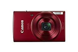 Canon Ixus 180 Compact Camera With 2.7 Inch Lcd Screen - Red