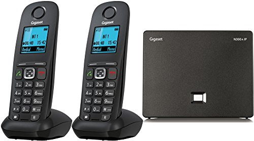 Gigaset A540 IP Voip DECT Dual Cordless Phone (liGO Bundle) (Twin)