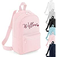 Personalised Signature Name Mini Backpack Rucksack Boys School bags Girls Personalised Bags
