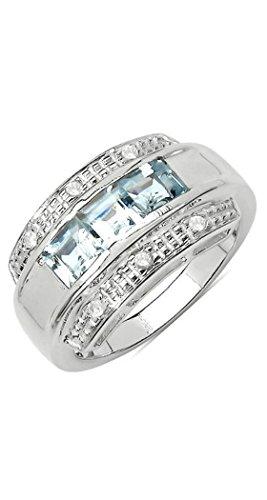 Silvance - anello da donna in argento 925 rodiato ...