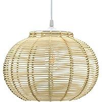 Amazon.fr : suspension rotin - 20 à 50 EUR : Luminaires & Eclairage