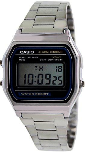 Reloj Casio A158WA-1CR, Reloj para Hombre A158WEA-1EF