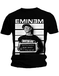 Official T Shirt EMINEM Black ARREST PHOTO Marshall All Sizes