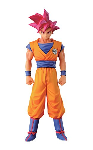 Banpresto Dragon Ball Z 5.9 Super Saiyan God Son Goku Figure, Chozousy
