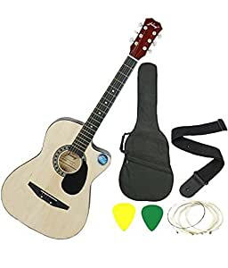 Jixing JXNG 6 Strings Acoustic Guitars With Combo (Natural)