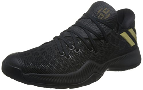 adidas Harden B/E, Chaussures de Basketball Homme Noir (Core Black/night Cargo F15/core Black)