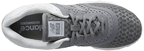 New Balance Herren Lifestyle Textile Gymnastik Grau