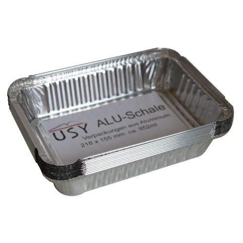 Preisvergleich Produktbild usy Aluschale passend für div. Weber Grills (10er Set)