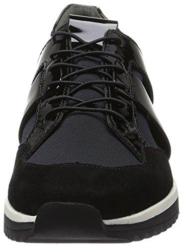 Högl Damen 3-10 3316 0100 Sneakers Schwarz (Schwarz0100)