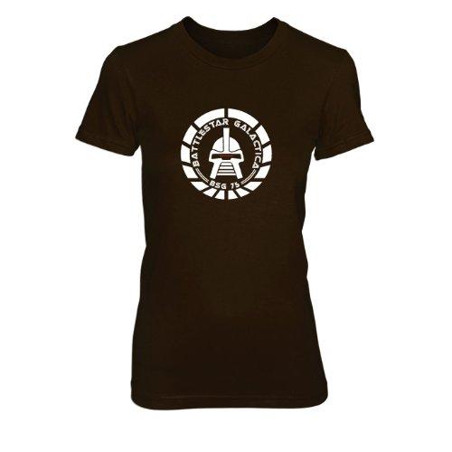 BSG 75 - Damen T-Shirt Braun