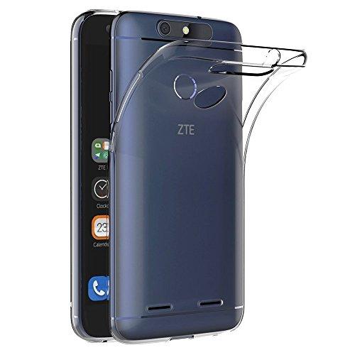 Funda Carcasa Gel Transparente para ZTE BLADE V8 LITE, Ultra Fina 0,33mm, Silicona TPU de Alta Resistencia y Flexibilidad, Electrónica Rey®