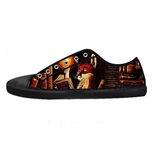 Dalliy Fox Men's Canvas shoes Schuhe Lace-up High-top Sneakers Segeltuchschuhe Leinwand-Schuh-Turnschuhe C