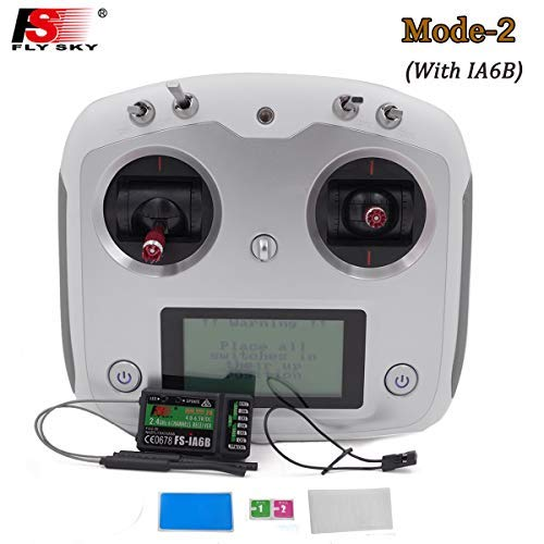 Flysky FS I6S 10ch 2 4G AFHDS 2A RC Transmitter Control w FS-iA6B Receiver  for for DIY RC Helicopter Quadcopter Airplane
