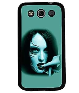printtech Vampire Girl Blood Back Case Cover for Samsung Galaxy Quattro i8552::Samsung Galaxy Quattro Win i8552