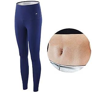 KARID Gewichtsverlust Hosen Sauna Hosen,Womens abnehmen Hosen,Spa Damen Neopren Schwitzhose für vermehrten Schwitzeffekt beim Sporttreiben
