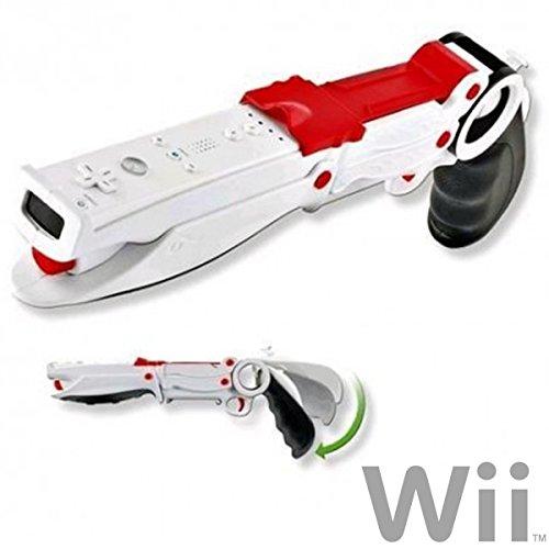 Trade Shop Traesio Fucile Shotgun per Giochi di Guerra Compatibile Nintendo Wii Keyteck Wii-92