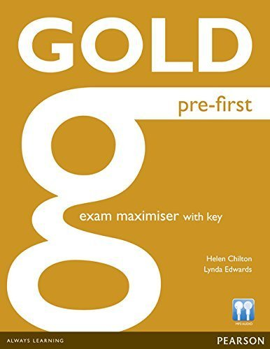 Gold Pre-First Maximiser with Key by Ms Helen Chilton (2013-03-14)